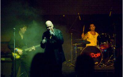 Riff Regan with the punk band London